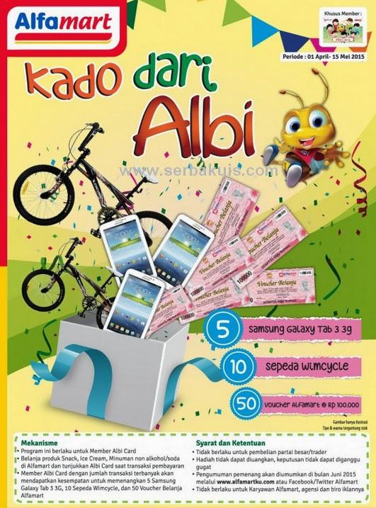 Promo Kado dari Albi Berhadiah 5 Samsung Galaxy Tab 3