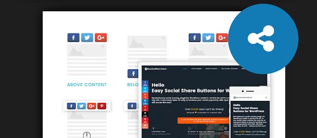 Blogger Sosyal Paylaşım Butonları Nasıl Eklenir?