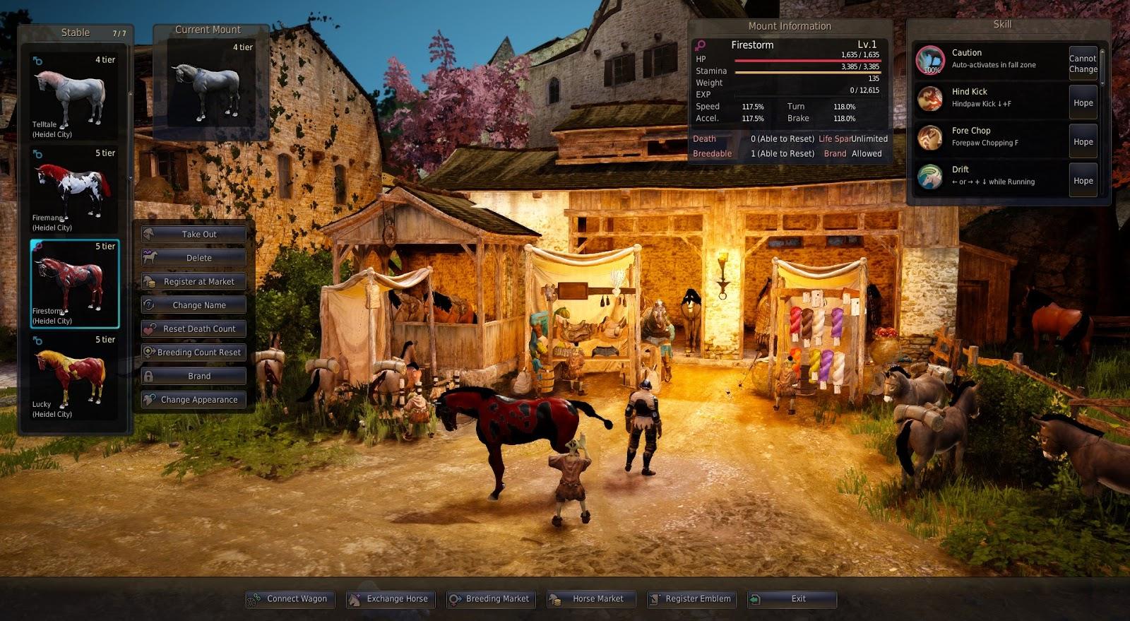 Black Desert Online Tips: Tier 5 Female from Tier 4 Level 14 Horses