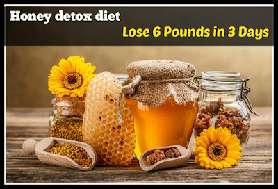 Honey helps in losing weight