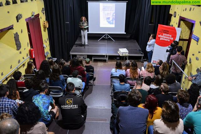 El Cabildo otorga el primer premio del concurso de spots contra la violencia de género a un grupo de jóvenes de Los Llanos de Aridane