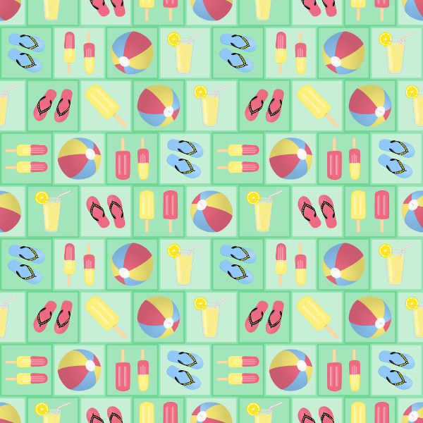 Offset Tiled Pattern