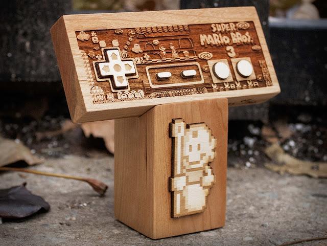 Geniales esculturas hechas en madera para coleccionistas