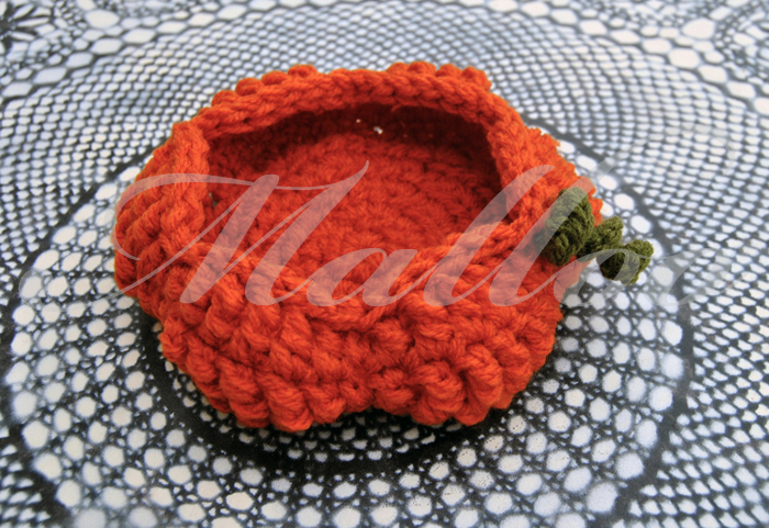 Halloween Pumpkin Basket - Free Crochet Pattern