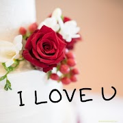 I Love You Images with Roses | Red and White Roses