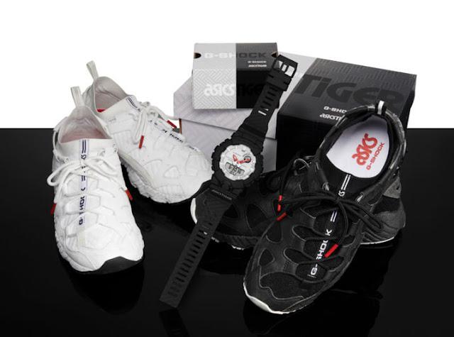 Jam Kolaborasi G-Shock X AsicsTiger GBA-800AT