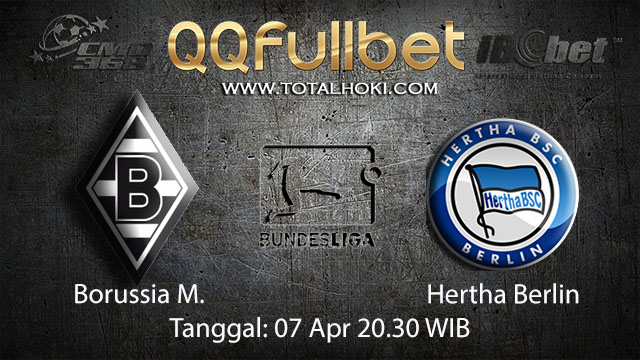 BOLA88 - PREDIKSI TARUHAN BOLA BORUSSIA MONCHENGLADBACH VS HERTHA BERLIN 7 APRIL 2018 ( GERMAN BUNDESLIGA )