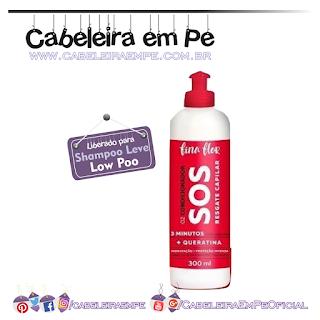Condicionador Sos - Fina Flor (Low Poo)