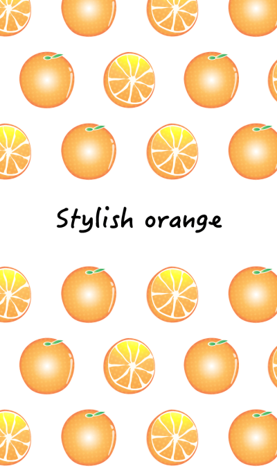 Stylish orange