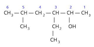 contoh cara penamaan senyawa alkohol