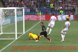 Hasil Pertandingan Piala Dunia Inggris vs Kroasia Tadi Malam 12 Juli 2018