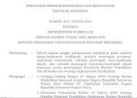 Standar Nasional Pendidikan dan Permendikbud