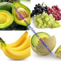 buah-buahan untuk tipes