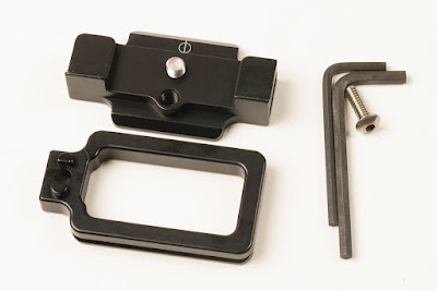 Hejnar PHOTO SN-5N / 5R Mod L Bracket - components & tools