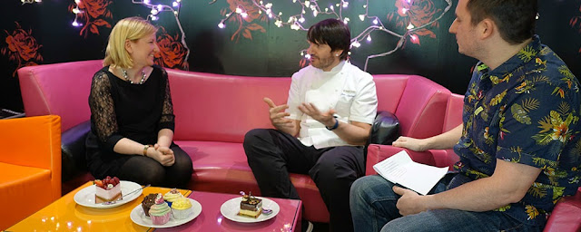Interviewing Eric Lanlard