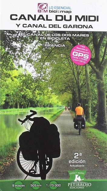 Regalos originales para ciclistas: Guía Canal du Midi y Canal del Garona: El Canal de los Dos Mares en Bicicleta