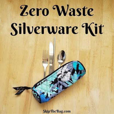Ultimate list of zero waste travel tips: zero waste cutlery kit