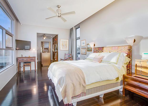 El dormitorio de Emilia Clark
