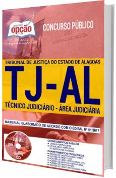 Apostila Concurso TJ-AL 2018 Técnico Judiciário - Área Judiciária