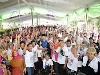 Desa Sumberhadi dan 6 Desa di Kecamatan Melinting, Siap Menangkan Ridho