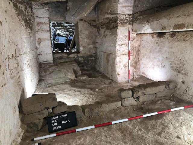 The discovery of the tomb of priest Kaires