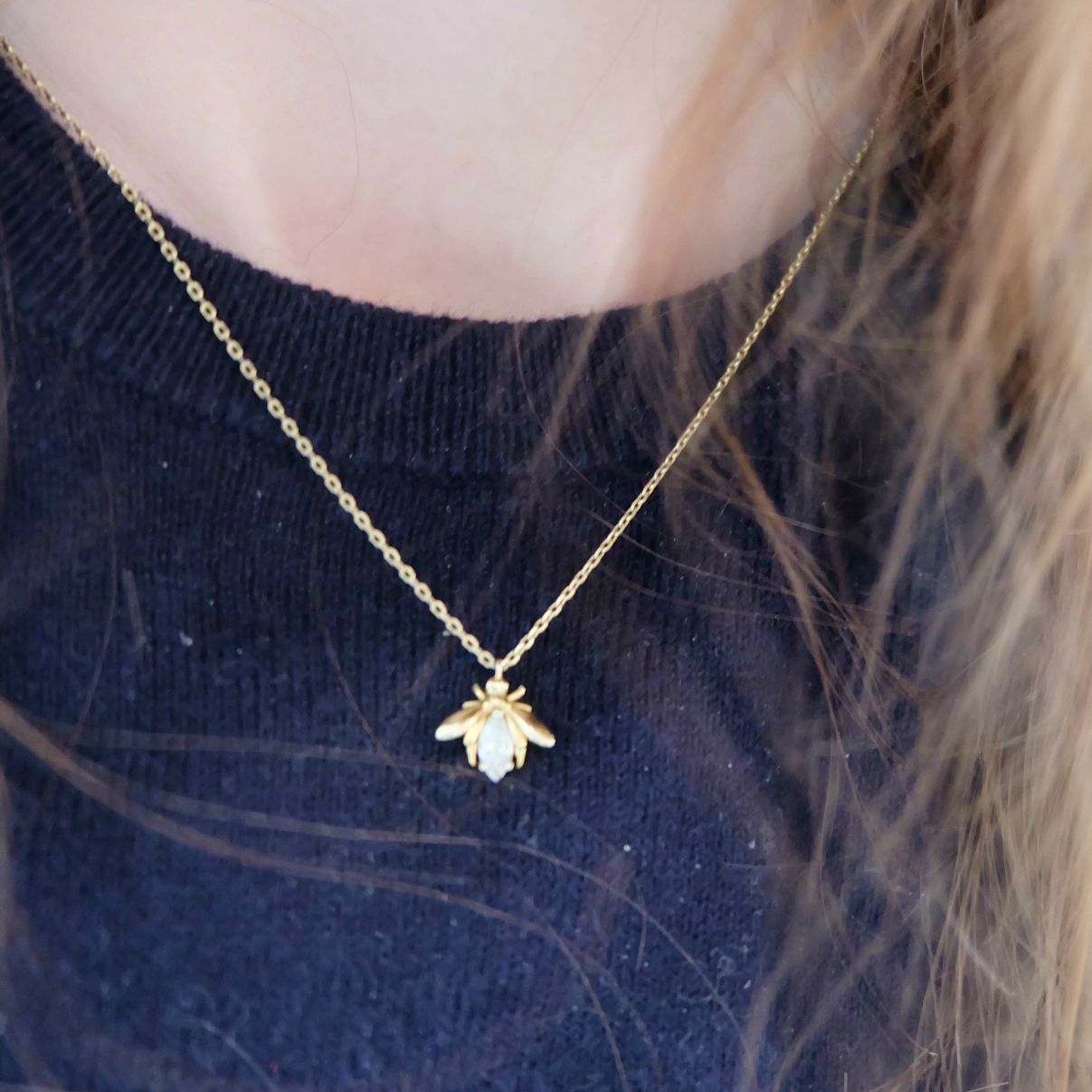 Topshop Baxter Jeans review, oliver bonas bee necklace