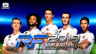 Real Football 2018 v1.5.4 Mod 2012 Apk + Data Obb