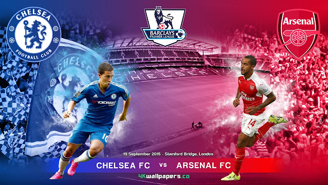 Chelsea x Arsenal: Premier League 2015-2016 - Data, Horário, TV e Local