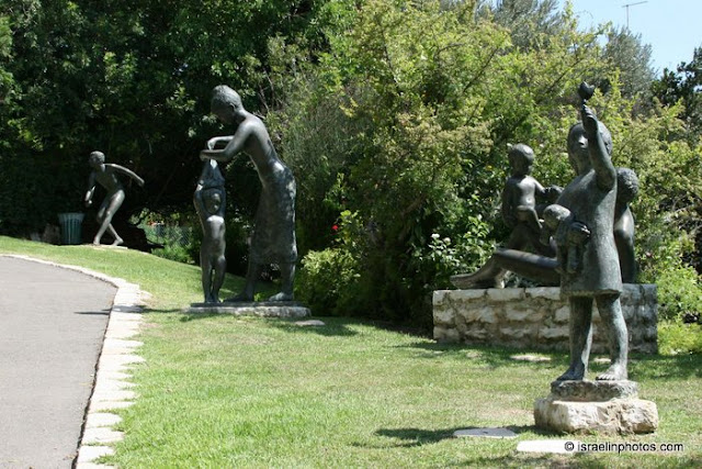 Haifa, Beelden van Ursula Malbin (beeldentuin)