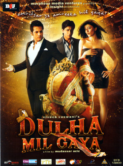 Dulha Mil Gaya 2010 Hindi 720p WEB HDRip 1GB bollywood movie dulha mil gaya 720p web hdrip free download or watch online at https://world4ufree.to