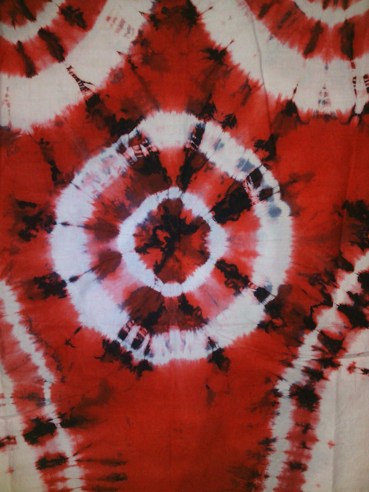 Contoh Gambar Pewarnaan Batik Ikat Celup Kataucap