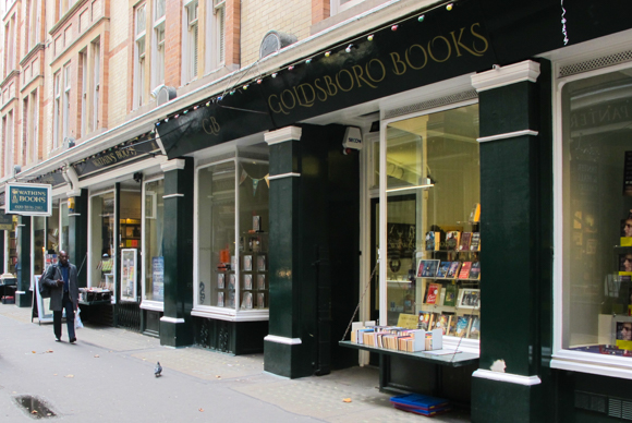 Cecil Court a bibliophile's dream located in a quiet pedestrian lane in London's West End.