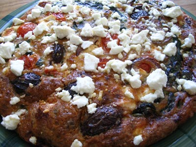 Greek Feta & Olive Frittata