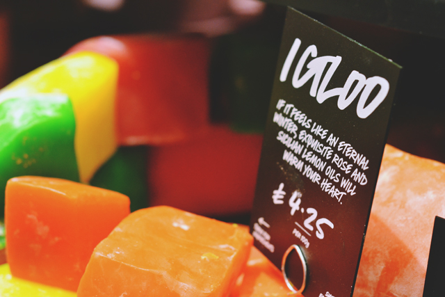 Lush Igloo Soap