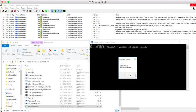 Bypassing Amsi using PowerShell 5 DLL Hijacking