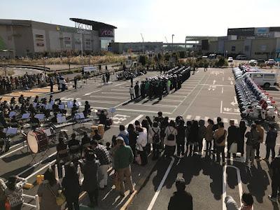 越谷警察 年末年始特別警戒 出発式