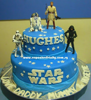 Who Loves Cake Star Wars Cakes