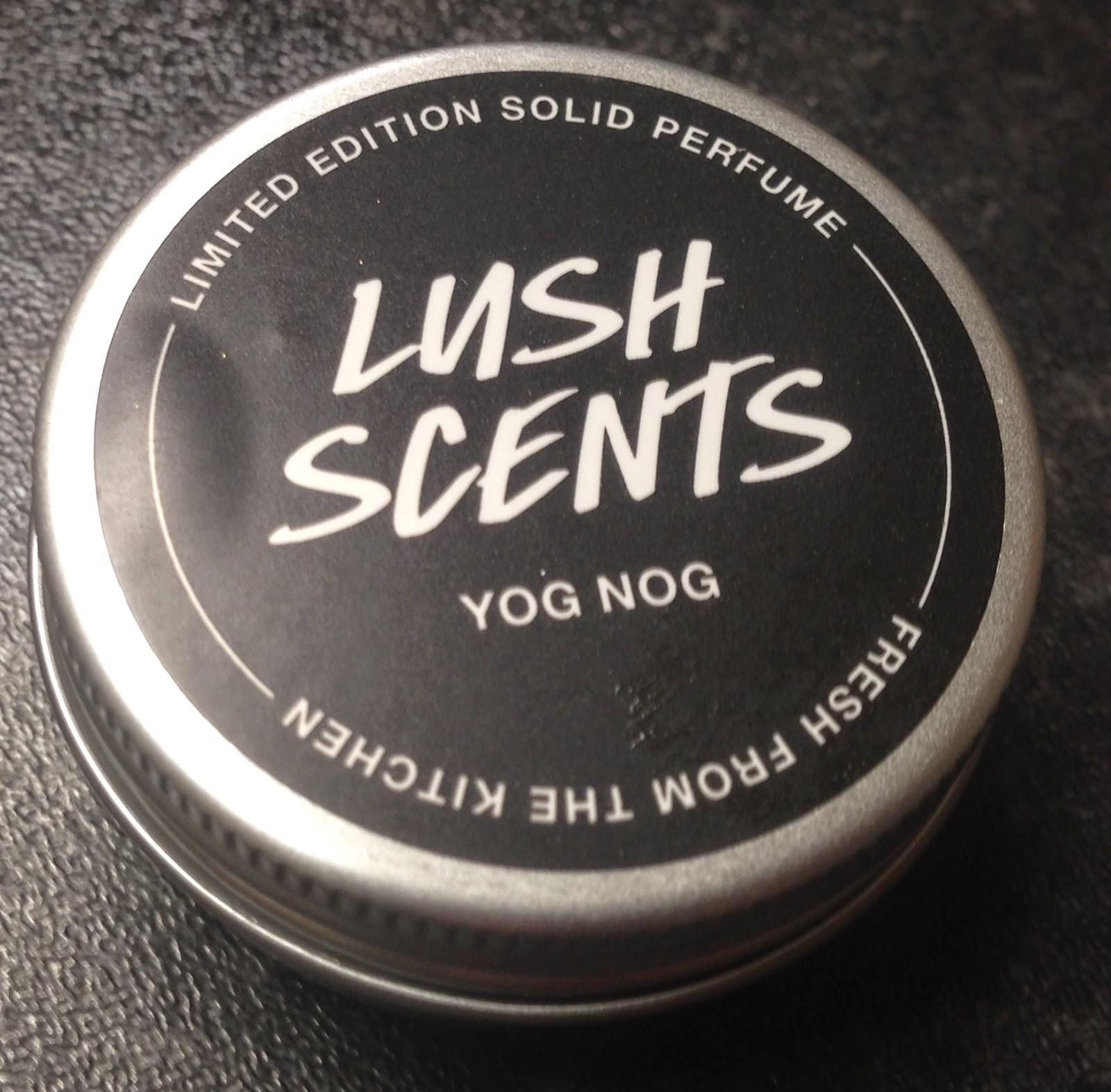 All Things Lush Uk Yog Nog Solid Perfume