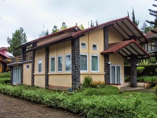 Villa Minerva istana bunga Lembang