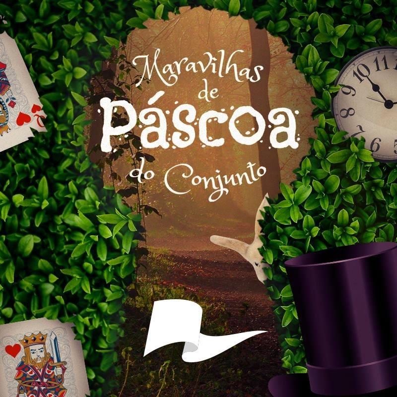 O Coelho vai receber as crianças para um encantado café de gostosuras no Conjunto Nacional