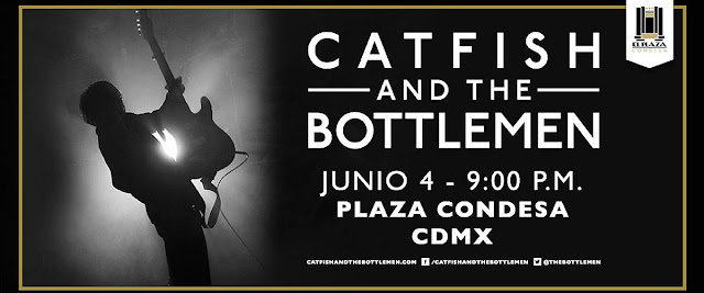 Catfish and the Bottlemen en Plaza Condesa
