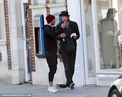 david beckham buys lunch for a homeless man photos blaze ideas