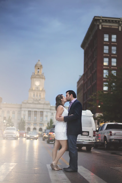 Des Moines Wedding Picture in Front of Capitol Building