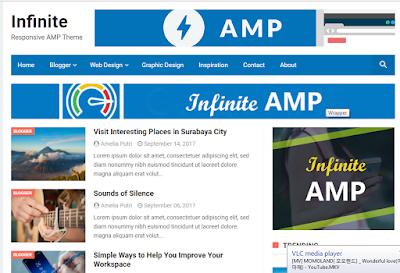 Template AMP Gratis Untuk Blog Terbaru 2018