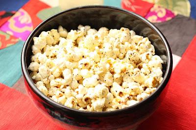popcorn maison sale epice
