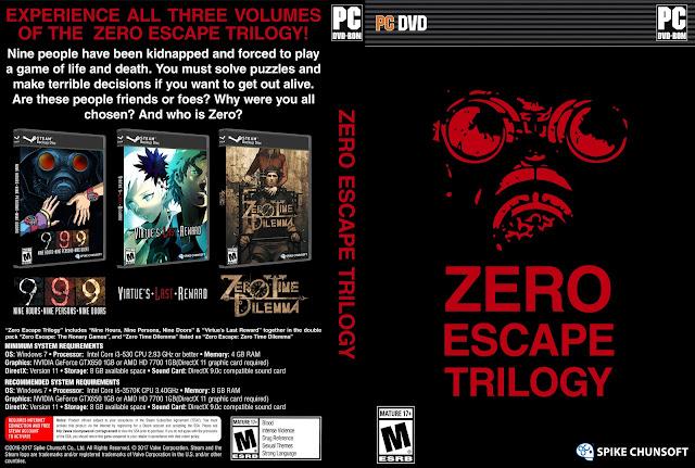 Capa Zero Scape Trilogy PC