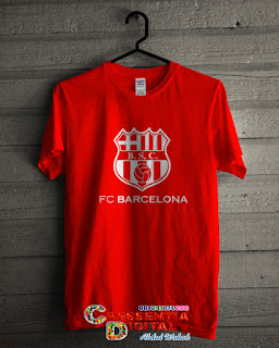 baju bola barcelona warna Orange Elegant2