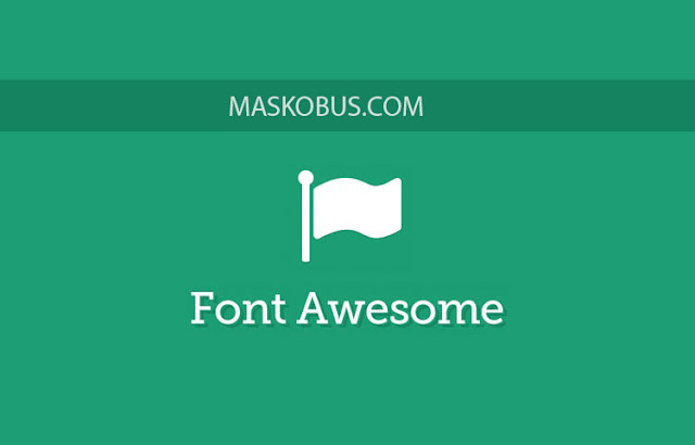 Font awesome icon mata uang