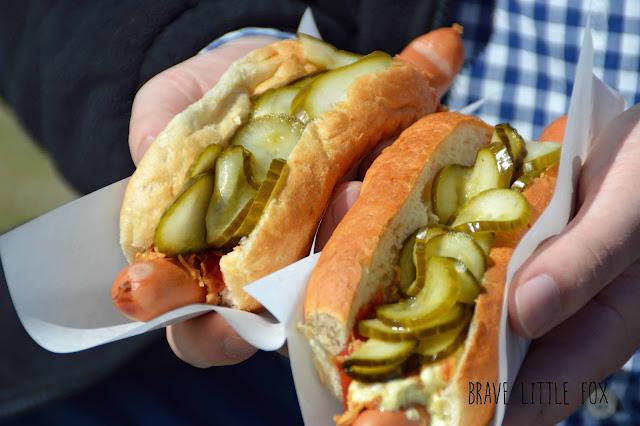 Hot Dogs Annies Kiosk Dänemark