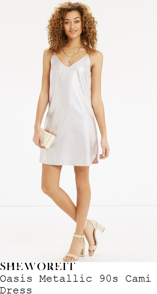 mollie-king-oasis-metallic-white-gold-shimmer-effect-sleeveless-cami-strap-v-neck-slip-mini-dress